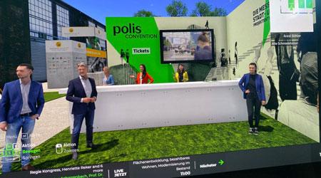 Veranstaltung polis Convention 2021 (Bild: jkr - polis convention)
