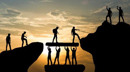 Veranstaltung Prozesse und Menschen zum Erfolg führen: Zusammenarbeit, Schnittstellen, Erwartungen und Zusagen (Bild: ©Love the wind - stock.adobe.com)